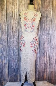 NWT Gorgeous Hope and Ivy Lacy, Floral Dress
